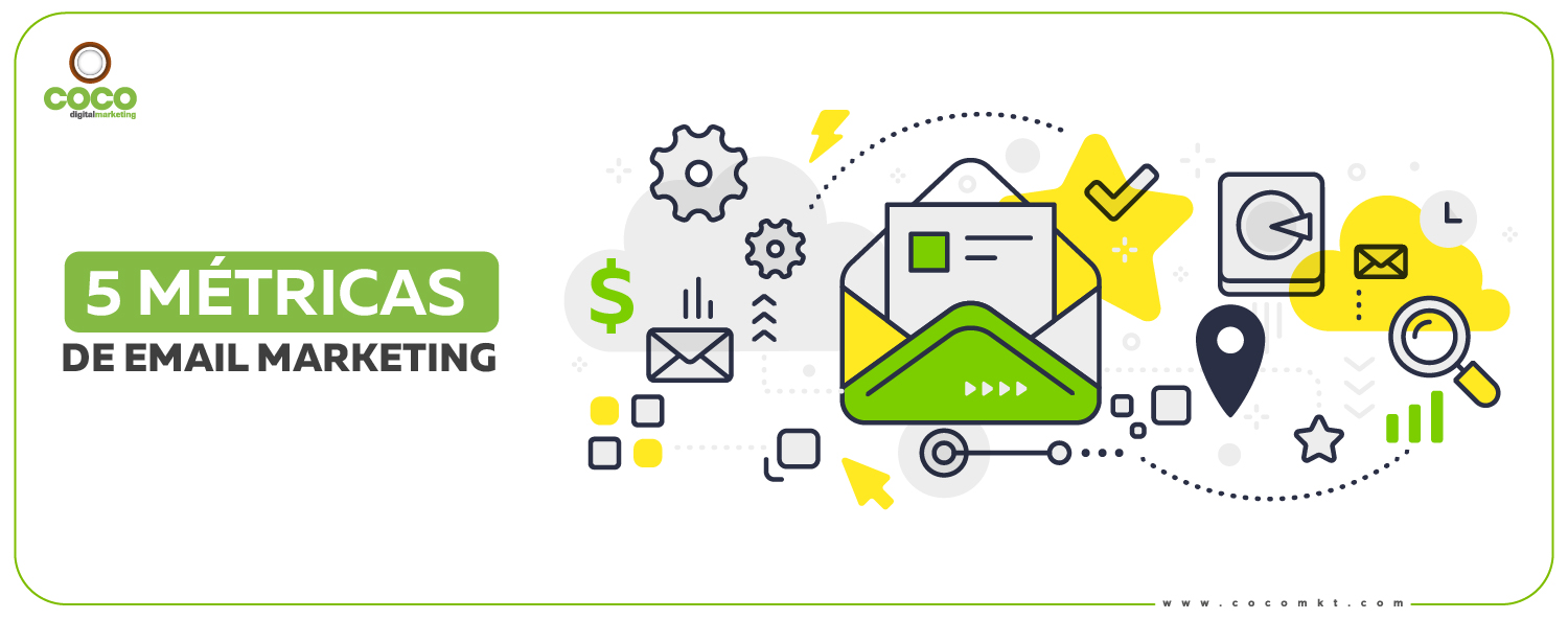 5 métricas del email marketing